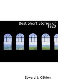 Best Short Stories of 1920