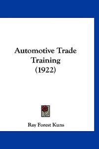 Automotive Trade Training
