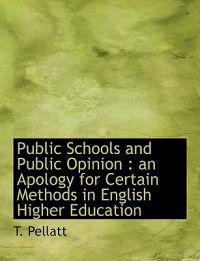 Public Schools and Public Opinion