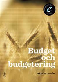 Budget och budgetering, bok med eLabb