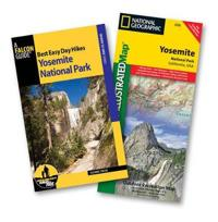 Falcon Guide Best Easy Day Hikes Yosemite National Park + National Geographic Trails Illustrated Map Yosemite National Park California, USA