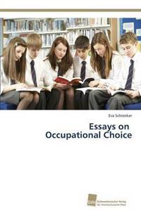 Essays on Occupational Choice