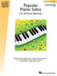 Popular Piano Solos Level 3