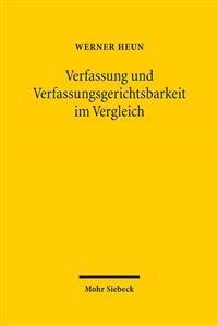 Verfassung Und Verfassungsgerichtsbarkeit Im Vergleich
