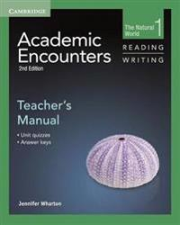 Academic Encounters Level 1 Teacher's Manual Reading and Writing