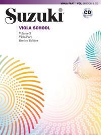 Suzuki Viola School, Vol 3: Viola Part, Book & CD