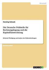 Die Deutsche Prufstelle Fur Rechnungslegung Und Die Kapitalflussrechnung