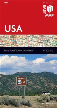 USA EasyMap : 1:4,5m
