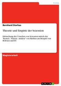Theorie Und Empirie Der Sezession