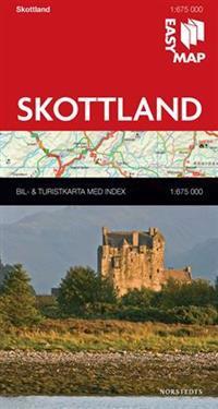 Skottland EasyMap : 1:675000