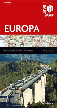 Europa EasyMap : 1:4,3m