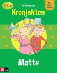Pysselbok Matte Kronjakten -  - böcker (9789127419957)     Bokhandel
