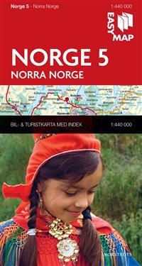 Norra Norge EasyMap : 1:440000
