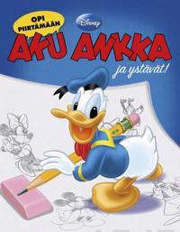 Opi piirtämän Aku Ankka ja ystävät!