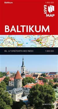 Baltikum EasyMap : 1:900000