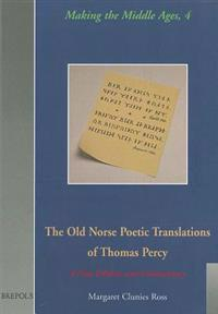 The Old Norse Poetic Translations of Thomas Percy