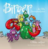 Birger : det lilla Storsjöodjuret. Olika odjur