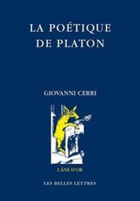 La Poetique de Platon