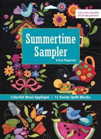Summertime Sampler: Colorful Wool Applique - Sunny Quilt Blocks