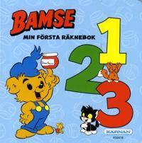 Bamse : min första räknebok 1, 2, 3