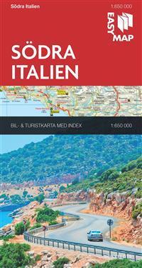 Södra Italien EasyMap : 1:650000