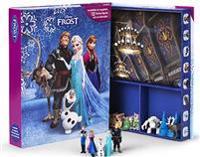 Disney Frost bok, lekmatta + figurer