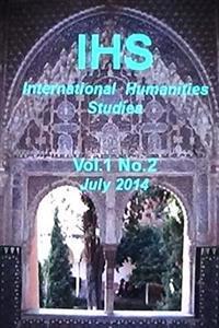 Ihs International Humanities Studies, Vol 1. No. 2