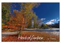 Herbstfarben (Tischaufsteller DIN A5 quer)