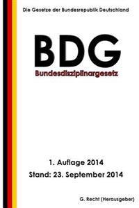 Bundesdisziplinargesetz (Bdg)