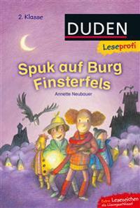 Leseprofi - Spuk auf Burg Finsterfels, 2. Klasse