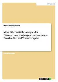 Modelltheoretische Analyse Der Finanzierung Von Jungen Unternehmen. Bankkredite Und Venture-Capital