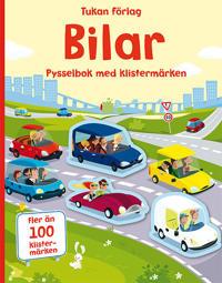 Bilar : pysselbok med klistermärken