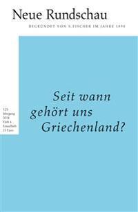 Neue Rundschau 2014/4