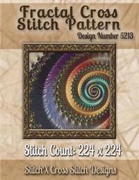 Fractal Cross Stitch Pattern: Design No. 5213