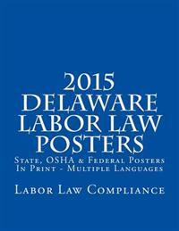 2015 Delaware Labor Law Posters: State, OSHA & Federal Posters in Print - Multiple Languages
