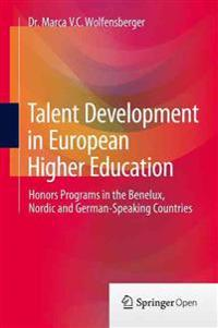 Talent Development in European Higher Education