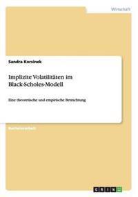 Implizite Volatilitaten Im Black-Scholes-Modell
