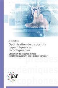 Optimisation de Dispositifs Hyperfr�quences Reconfigurables