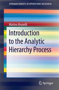 Introduction to the Analytic Hierarchy Process