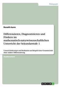 Differenzieren, Diagnostizieren Und Fordern Im Mathematisch-Naturwissenschaftlichen Unterricht Der Sekundarstufe 1