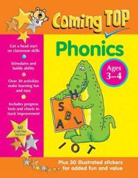 Coming Top: Phonics Ages 3-4: Get a Head Start on Classroom Skills - With Stickers!