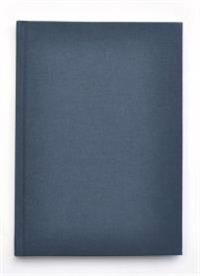 Kiji skrivbok A4 blå olinjerad