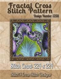 Fractal Cross Stitch Pattern: Design No. 5258