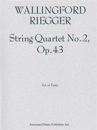String Quartet No. 2, Op. 43