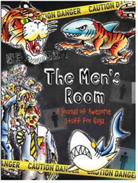 Men's Room Locking Journal (Diary, Notebook): A Journal of Awesome Stuff for Guys