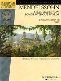 Mendelssohn - Selections from Songs Without Words: Book with Online Audio