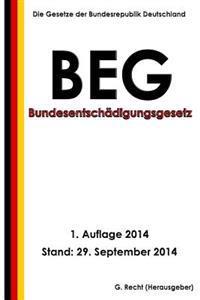 Bundesentschädigungsgesetz - Beg