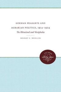 German Peasants and Agrarian Politics, 1914-1924