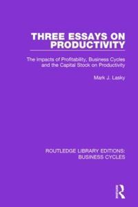 Three Essays on Productivity
