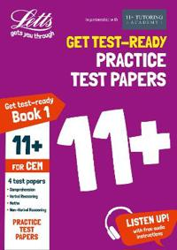 Letts 11+ Success -- 11+ Practice Test Papers Book 1, Inc. Audio Download: For the Cem Tests